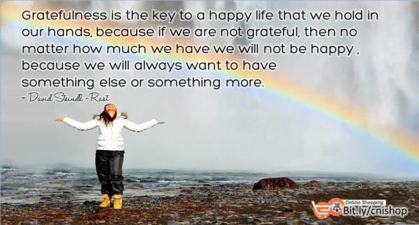 Bersyukurlah atas hidupmu supaya kau tahu di mana kebahagiaan itu berada (2)