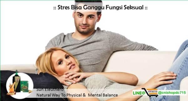 Stres Bisa Ganggu Fungsi Seksual