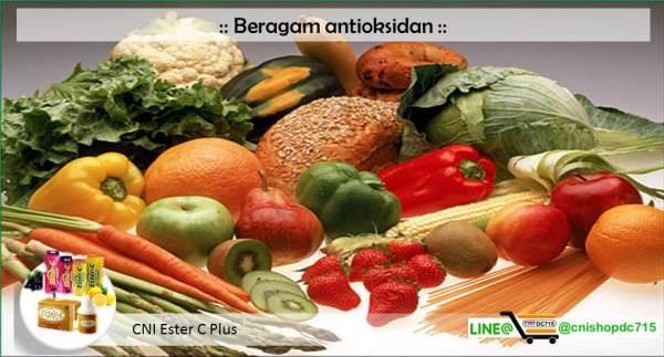 Beragam antioksidan
