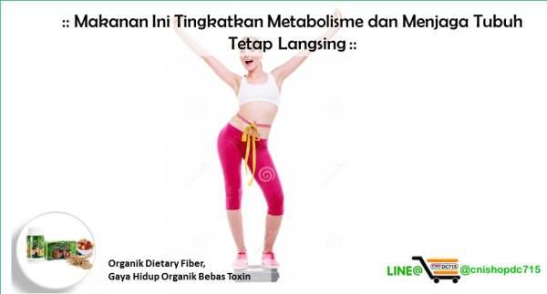 Makanan Ini Tingkatkan Metabolisme dan Menjaga Tubuh Tetap Langsing