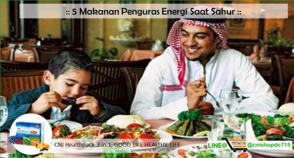 5 Makanan Penguras Energi Saat Sahur