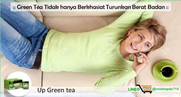Green Tea Tidak hanya Berkhasiat Turunkan Berat Badan