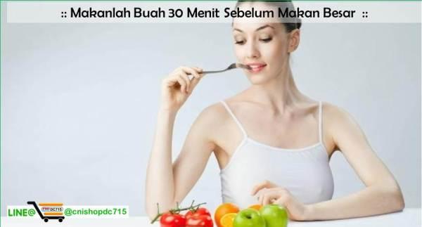 Makanlah Buah 30 Menit Sebelum Makan Besar