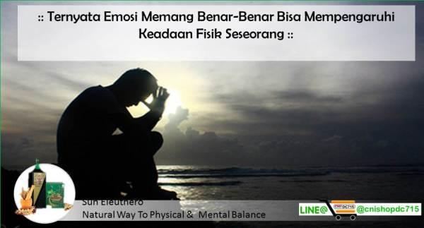 Ternyata Emosi Memang Benar-Benar Bisa Mempengaruhi Keadaan Fisik Seseorang