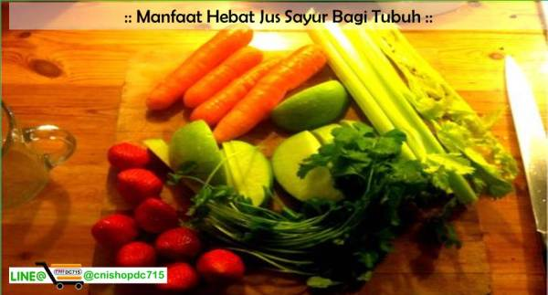 Manfaat Hebat Jus Sayur Bagi Tubuh