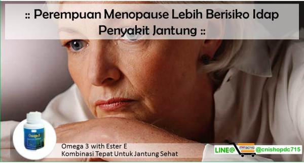 Perempuan Menopause Lebih Berisiko Idap Penyakit Jantung