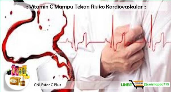 Vitamin C Mampu Tekan Risiko Kardiovaskular