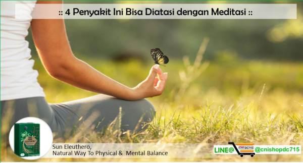4 Penyakit Ini Bisa Diatasi dengan Meditasi