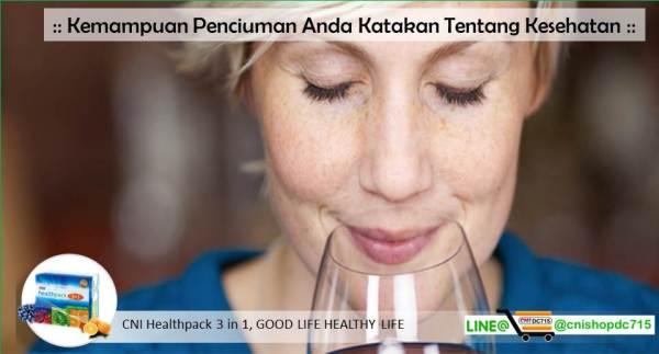 Kemampuan Penciuman Anda Katakan Tentang Kesehatan