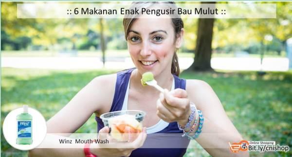 6 Makanan Enak Pengusir Bau Mulut