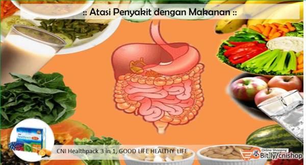 Atasi Penyakit dengan Makanan