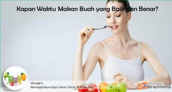 Cara Makan Buah yang Baik