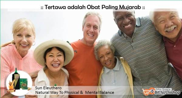 Tertawa adalah Obat Paling Mujarab