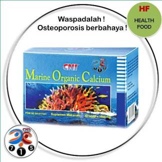 Slide25 CNI Marine Organic Calcium Strip