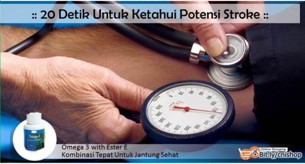 20 Detik Untuk Ketahui Potensi Stroke