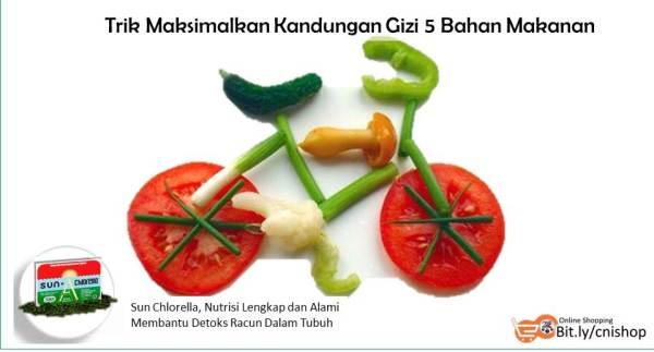 Trik Maksimalkan Kandungan Gizi 5 Bahan Makanan