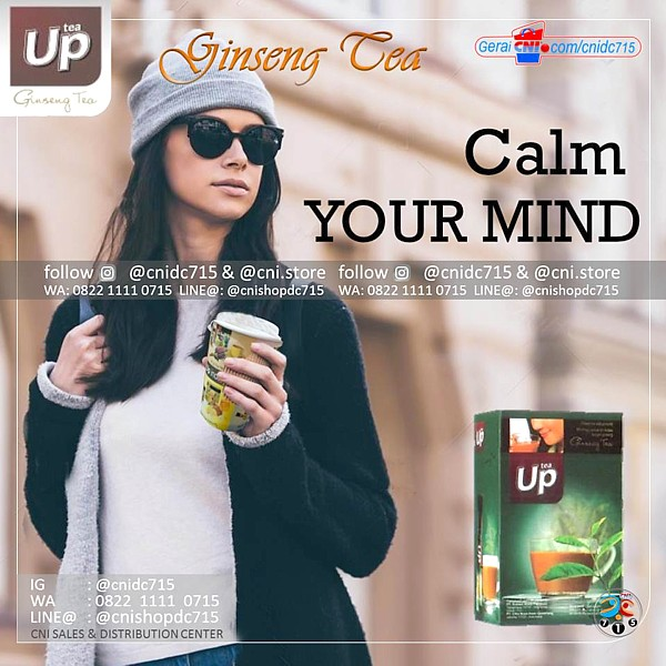CNI Up Ginseng Tea