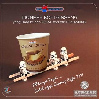 :: CNI Ginseng Coffe, Pelopor Kopi Ginseng Indonesia Kini Mendunia ::