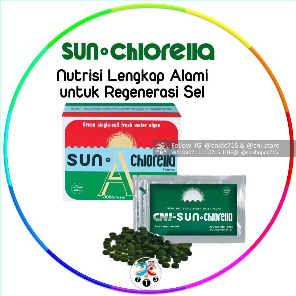 Cni Sun Chlorella 150 Tablet Daftar Update Harga Terbaru Dan Tablets Asli Produk