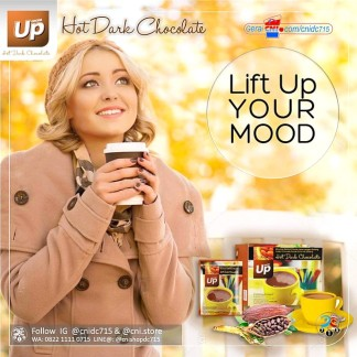 Produk CNI Up Hot Dark Chocolate