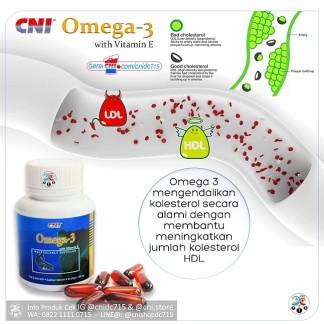 Produk CNi Omega 3 Menurunkan Kolesterol