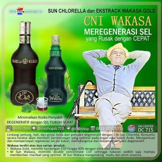 Chlorella dalam bentuk ekstrak
