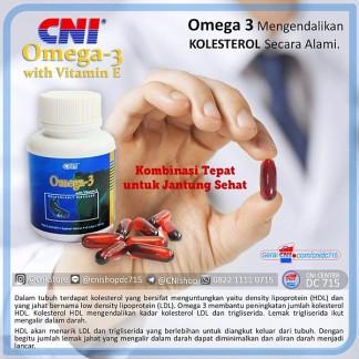 Peran Omega 3 untuk Menurunkan Kolesterol