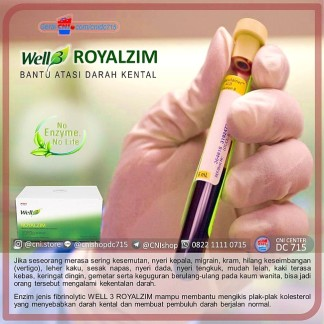 Produk CNI Royalzim BantuAtasi Darah Kental