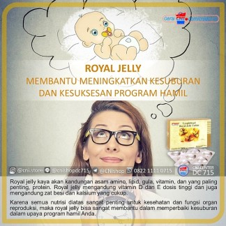 Royal Jelly membantu meningkatkan kesuburan dan kesuksesan program hamil