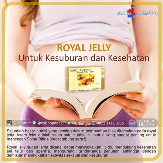 Royal Jelly Untuk Kesuburan dan Kesehatan