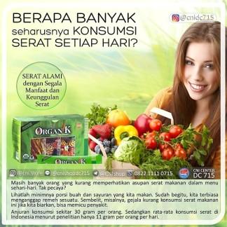 Produk CNI : Organik Dietary FIber Manfaat serat untuk kesehatan