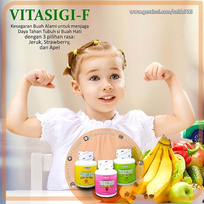 Anak Vitasigi-f dengan 3 rasa