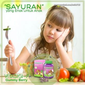 Produk CNI Vitasigi-F Gummy Berry, Sayuran yang Enak Untuk Anak